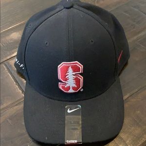 STANFORD HAT Nike dry fit black L -XL-tickets on.